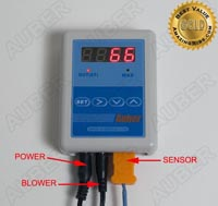 Temperature Controller for 55 G Drum style Smoker, 10 CFM
