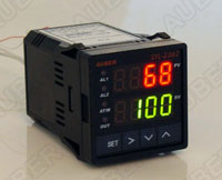 Universal 1/16 DIN Temperature Controller 12-30V DC PWR