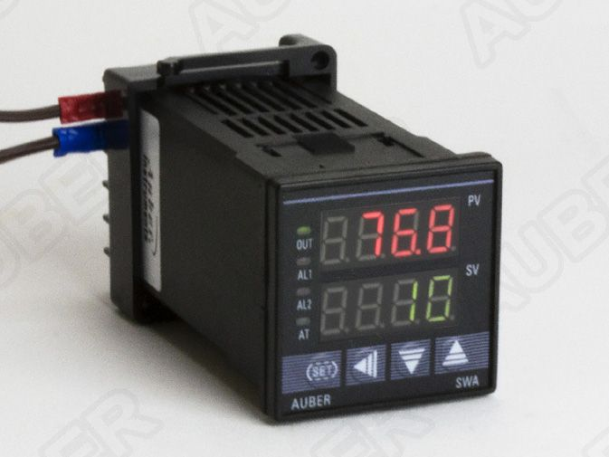 1/16 DIN PID Temperature Controller w/ Timer