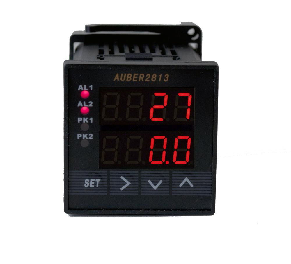 1/16 DIN Dual Channel Process Meter