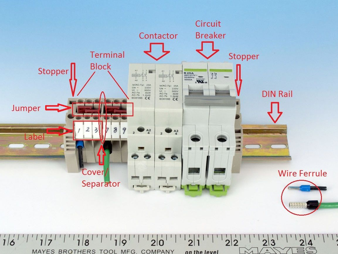 30A_category_profile din rail components auberins com, temperature control solutions din rail wiring diagram at bakdesigns.co