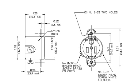 5258-ss_dimention Nema Plug Wiring Diagram on