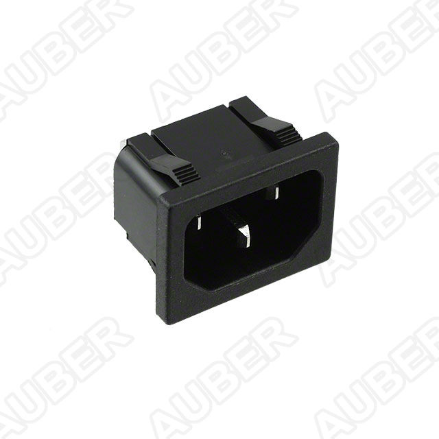 120V 15A Receptacle, Panel Mount, IEC 320-C14