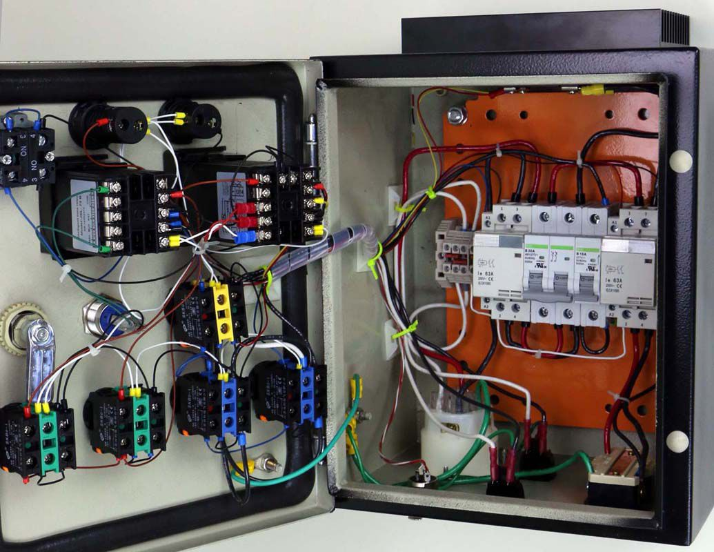 Wiring Pid Control Box Wire Data Schema Diagram Wall Mount For Two Controllers With Pre Cut 12x10x8 B302520 Rh Auberins Com Temperature Controller