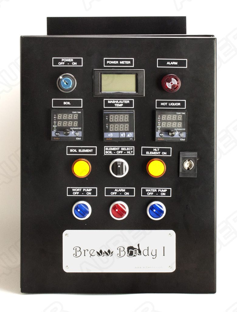 Brew Buddy I Control Panel for HERMS System (240V 30A 7200W)