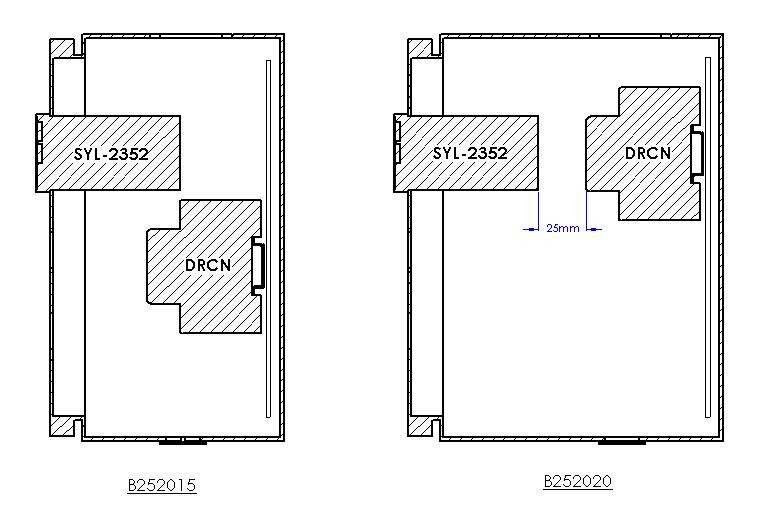 wall mount box for single controller 10x8x8  b252020