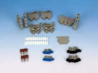 DIN Rail Terminal Block Kit