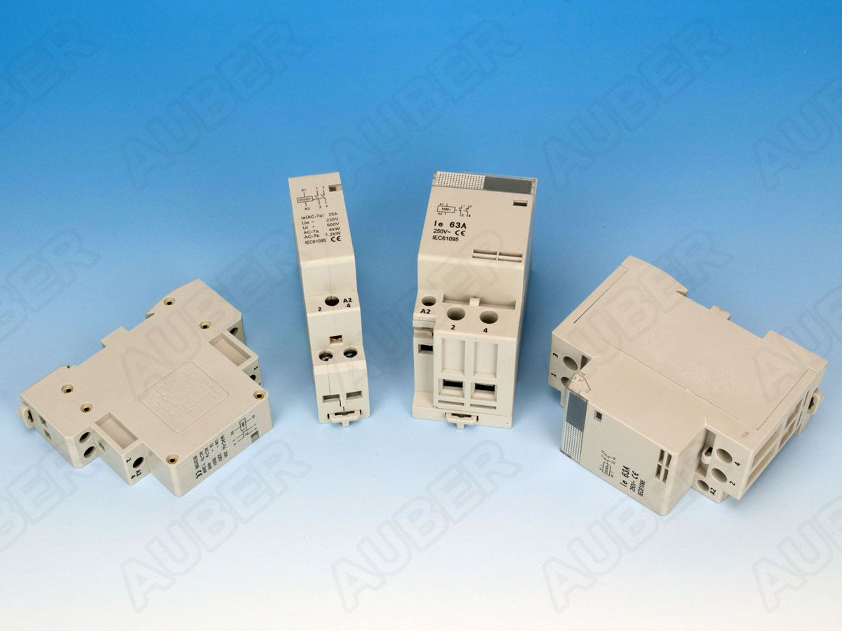 DIN Rail Mounted Contactor