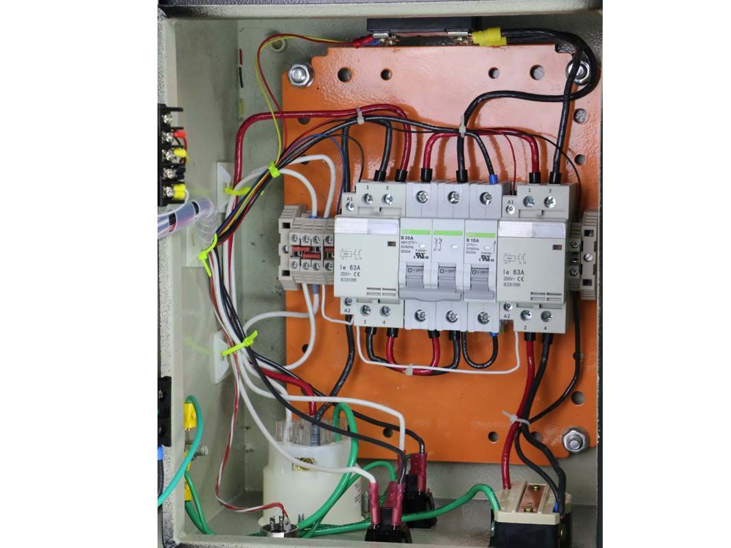 Din Rail Components Temperature Control Solutions Circuit Breaker Panel With Cover Installed New Turned Off For Assembled Left Brew In A Bag Right Here Is Box