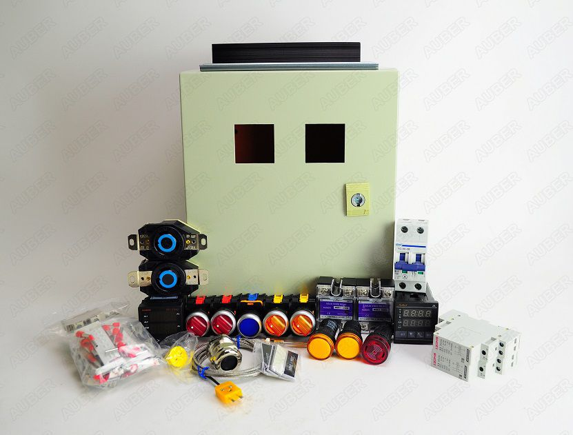 Powder Coating Oven Controller Kit, 2nd Gen ( 240V 50A 12000W)