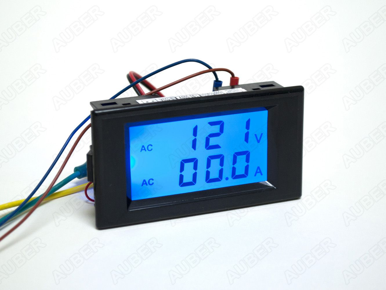 2 In 1 Lcd Voltmeter Ammeter Gauge Dva 120 1750 Selector Switch Connection To Current Transformers And