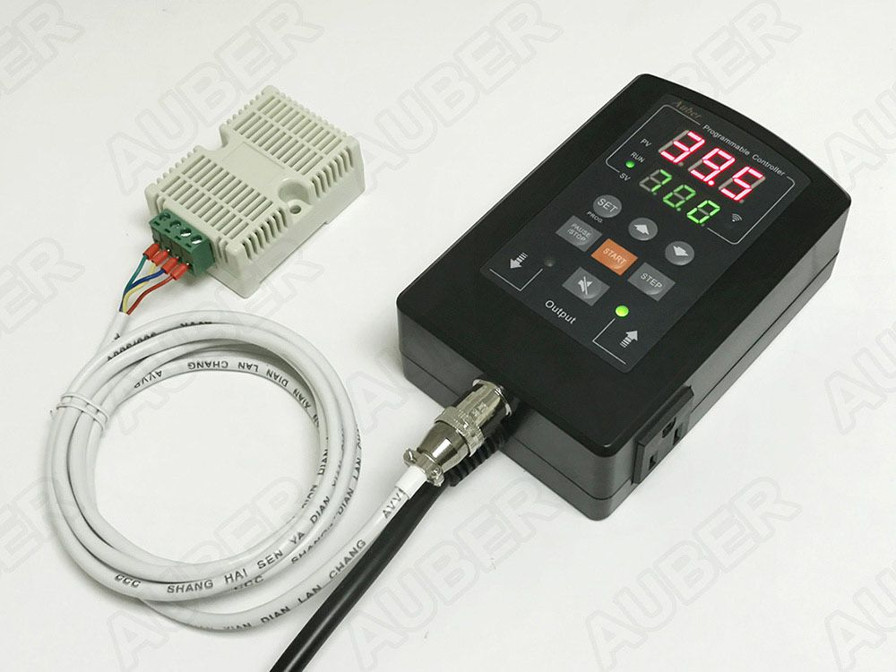 Wireless Dual Outputs Program Humidity Controller