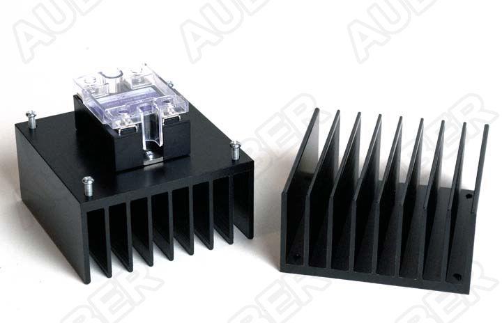 External Mount Heat Sink For 40a Ssr Square Hs40et