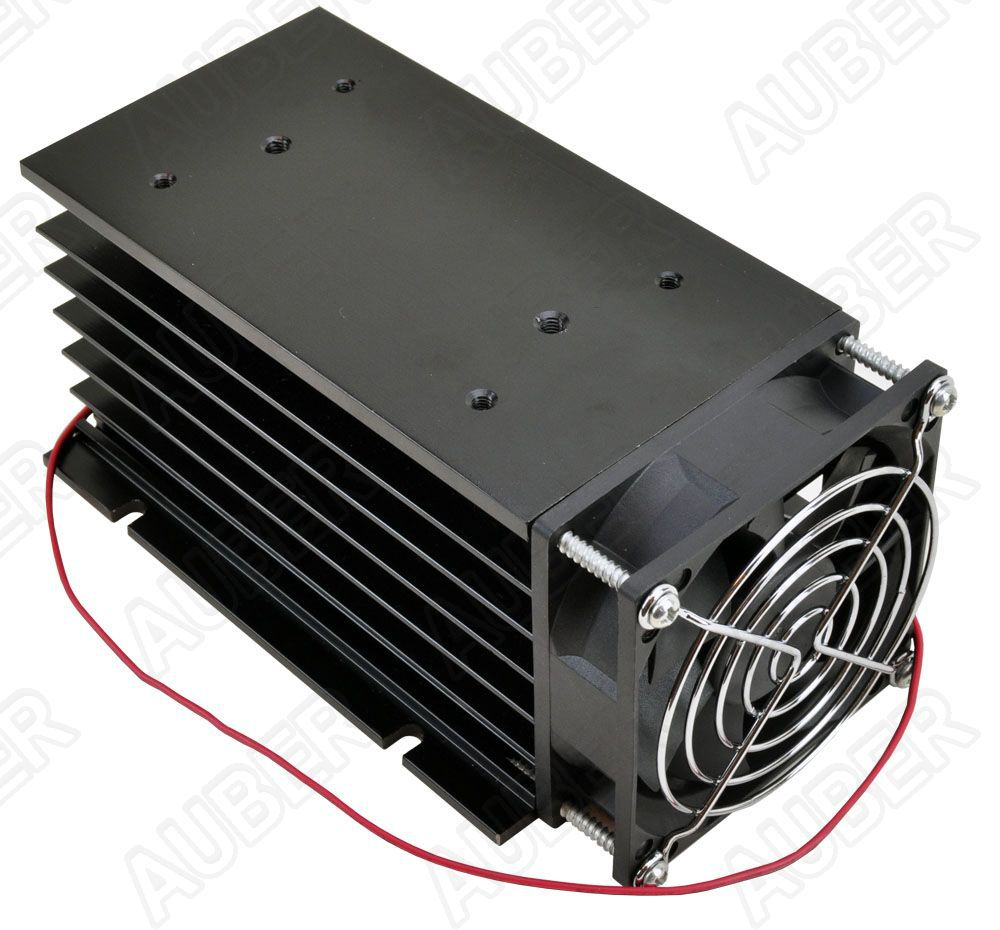 Heat Sink for Single Phase 100A or 3 Phase 80A SSR