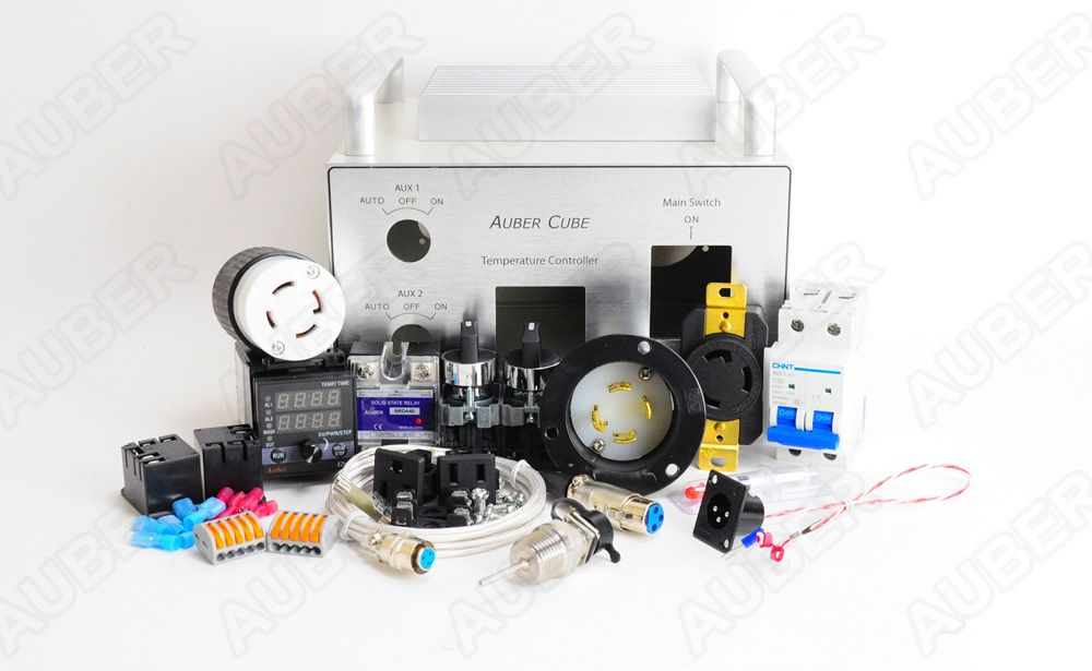 Cube 2 Tabletop Brewing Controller Kit Us 240v 30a 7200w Electronic Brewery Wiring Diagram