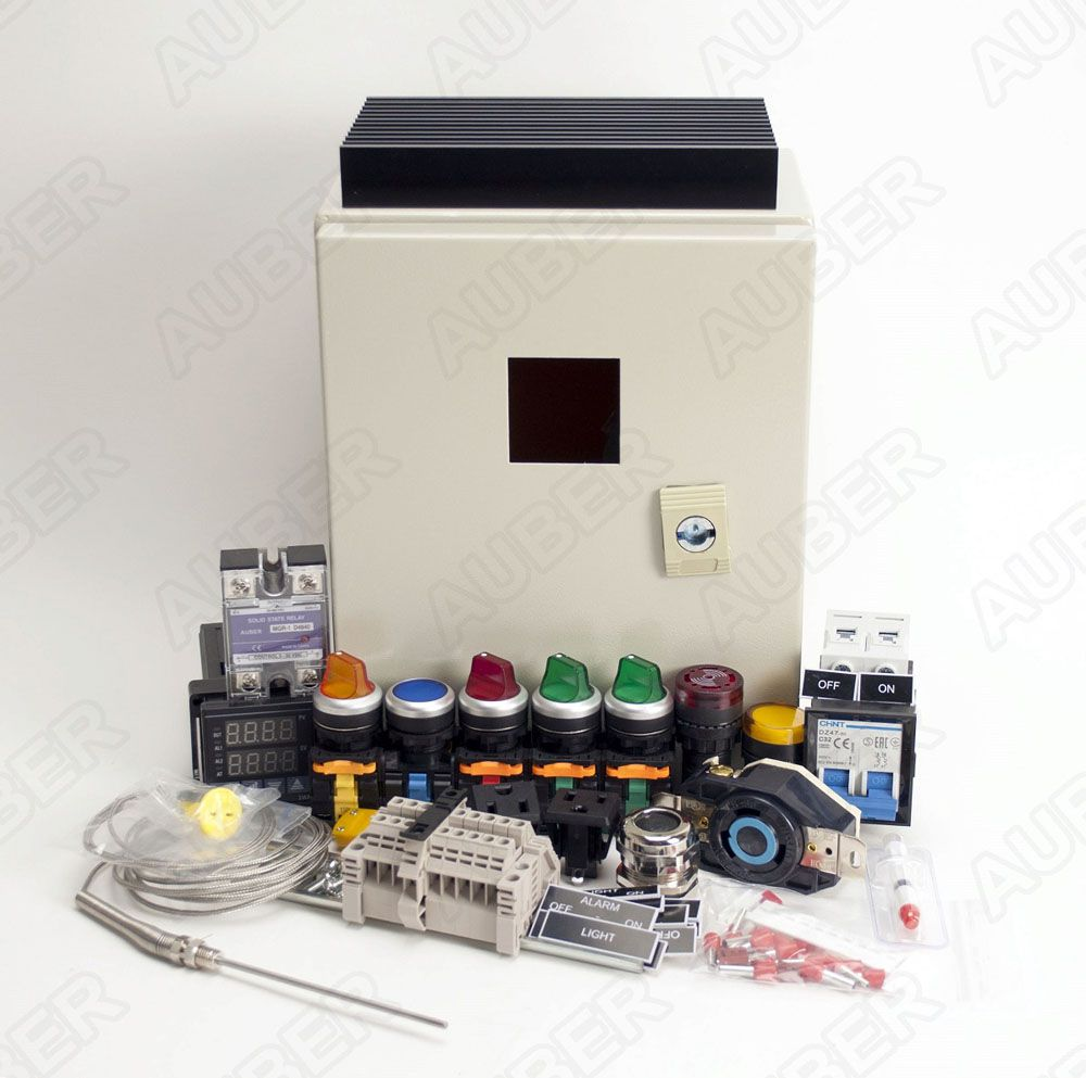 Powder Coating Oven Controller Kit w/ Light&Fan Control (7200 W)