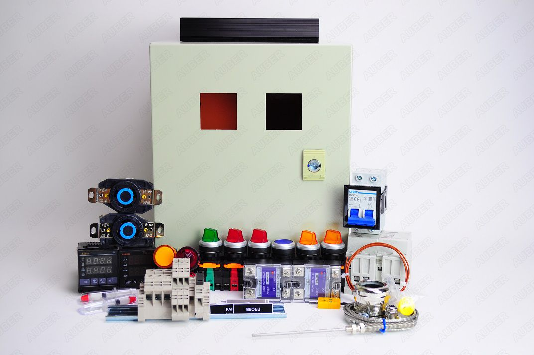 Powder Coating Oven Controller Kit w/ Fan Control (240V 12000W)
