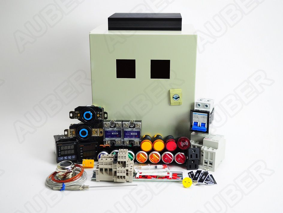 Powder Coating Oven Controller Kit w/ Light&Fan Control (12000W)