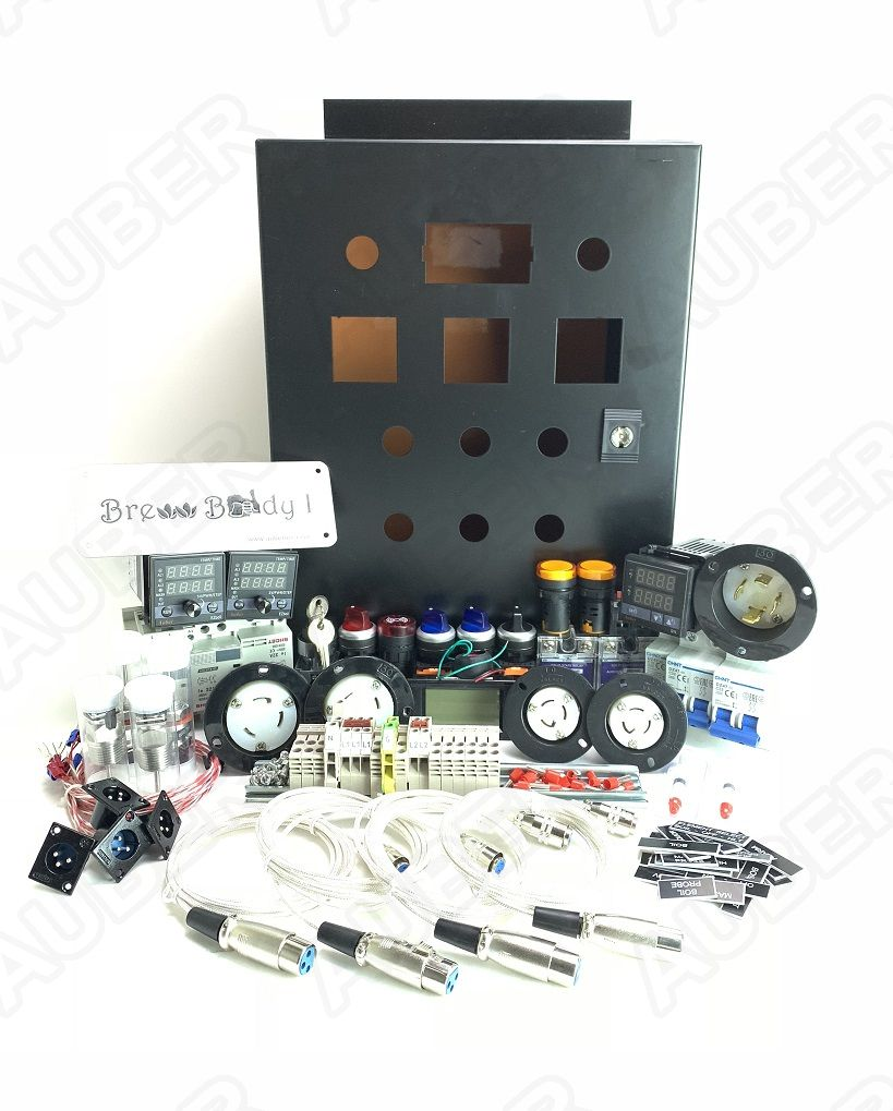 Brew Buddy I Control Panel Kit 240v 30a 7200w Bb1 89900 Electronic Brewery Wiring Diagram