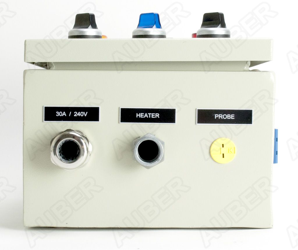 pid controller kit for kiln  heat treating oven   240v 30a