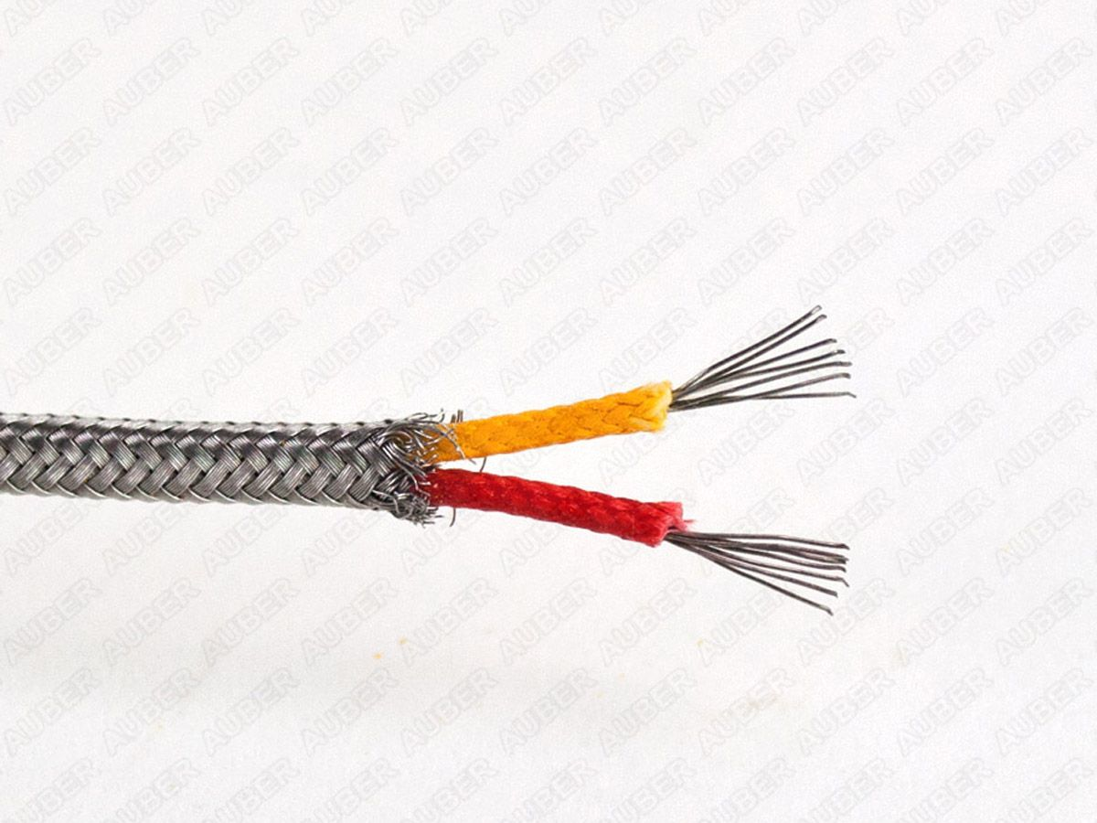 K type thermocouple extension wire, multistranded