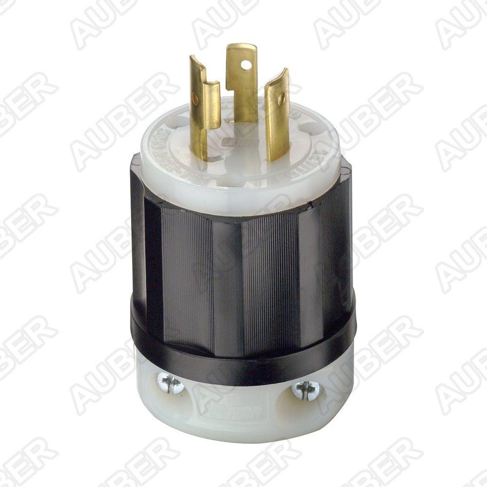 Leviton 240V 20A NEMA L6-20P Plug [L6-20P] - $11.50 : auberins.com ...