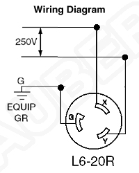 L R Wiring on L6 20 Plug Wiring Diagram