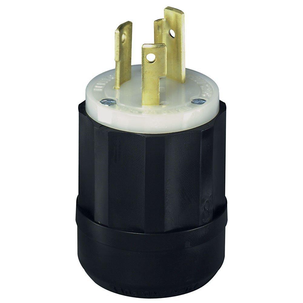 Leviton 240V 30A NEMA L6-30P Plug for Heater [L6-30P] - $14.90 ...
