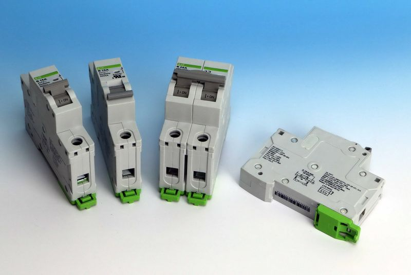 DIN Rail Mounted Circuit Breaker