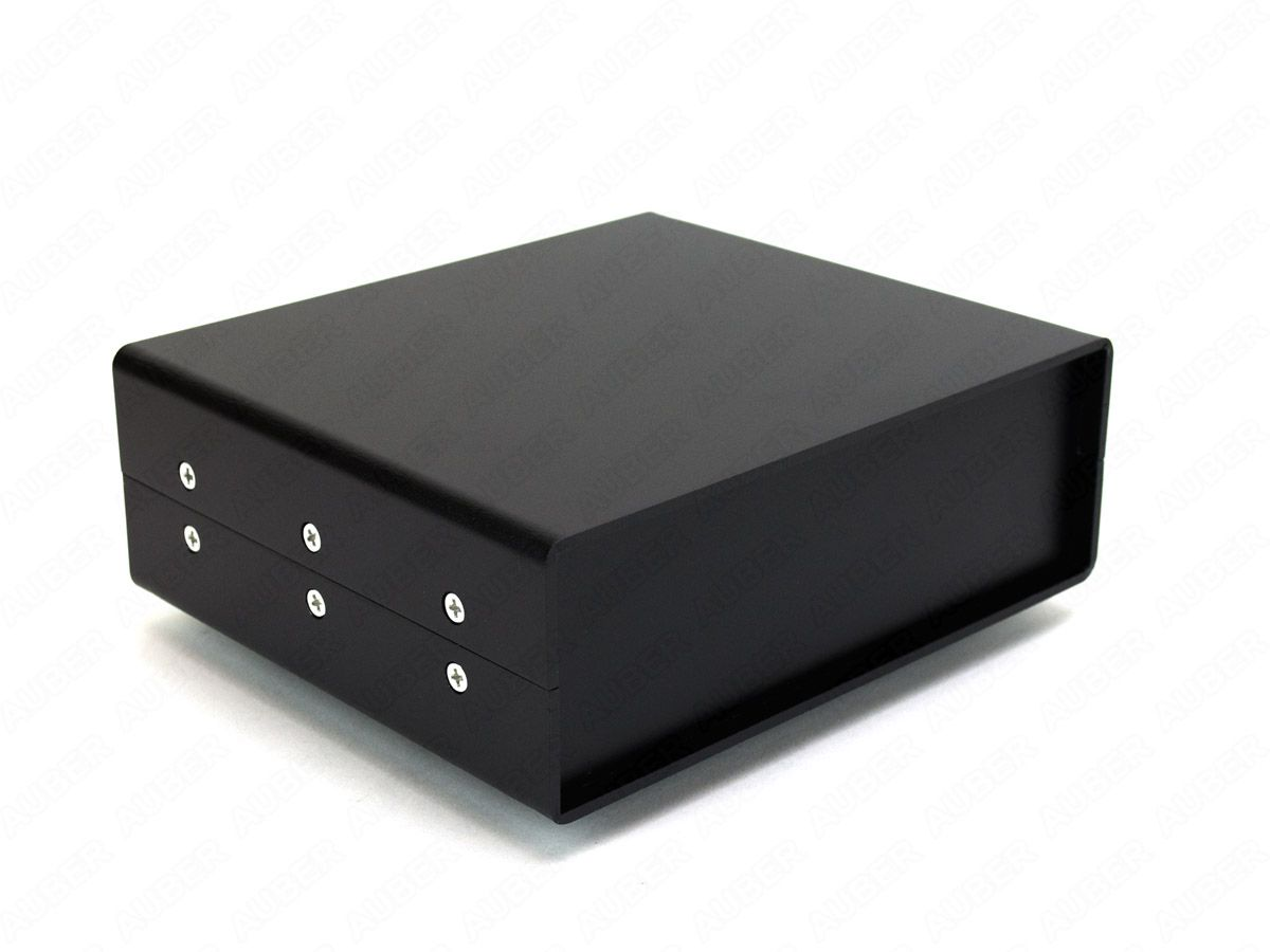 Clamshell style box for 1/16 DIN controller