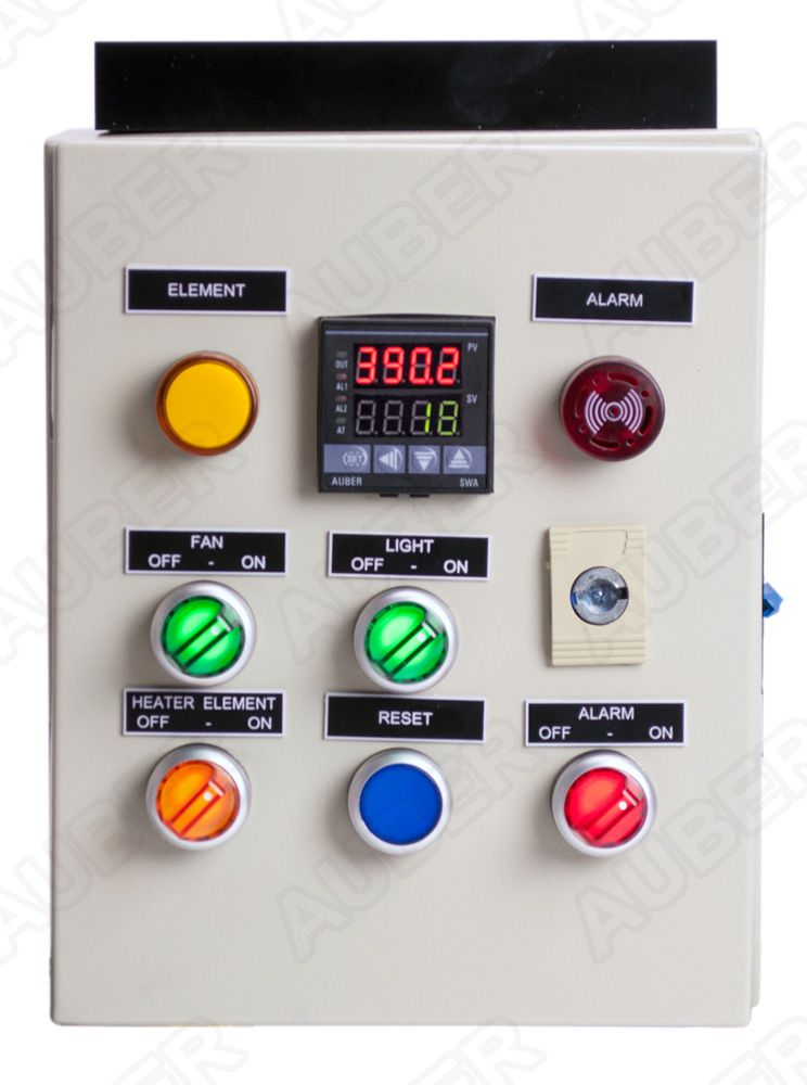 240V 30A Control Panel for Powder Coating Oven w/ LF, Demo Unit