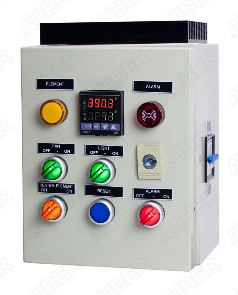 powder coating oven controller kit w light&fan control (7200 w Off Grid Wiring Diagrams at Diy Enail Wiring Diagram