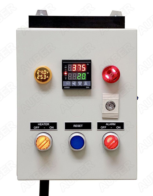 Control Panel For Powder Coating Oven 240v 30a 7200w Pco101 499 00 Auber Instruments