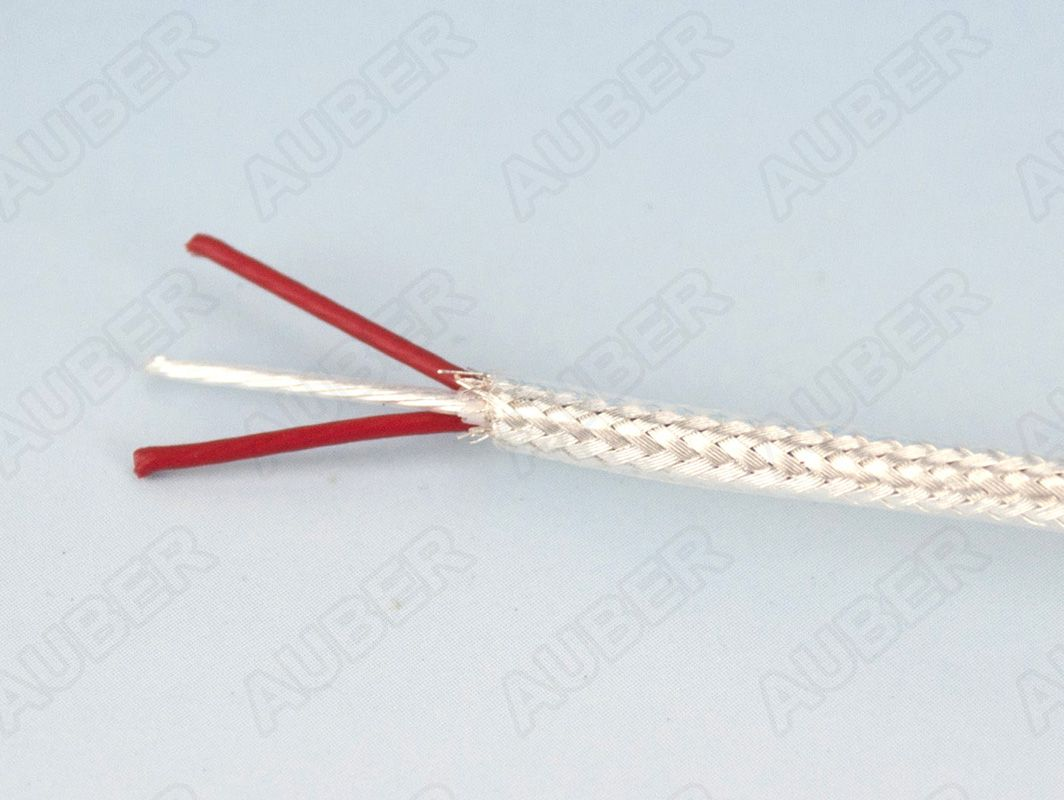RTD Extension Wire, TEFLON Insulated Braided