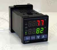 1/16 DIN PID Controller w/Ramp/Soak (Built-in SSR)