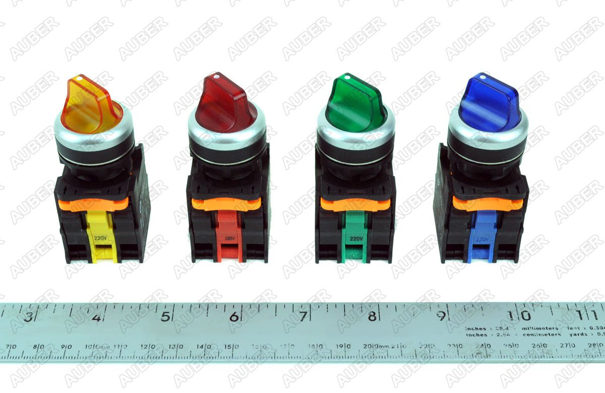 Illuminated Short Profile 22mm Selector 2 Position Maintained Sw16 Wiring A Switch Product Description