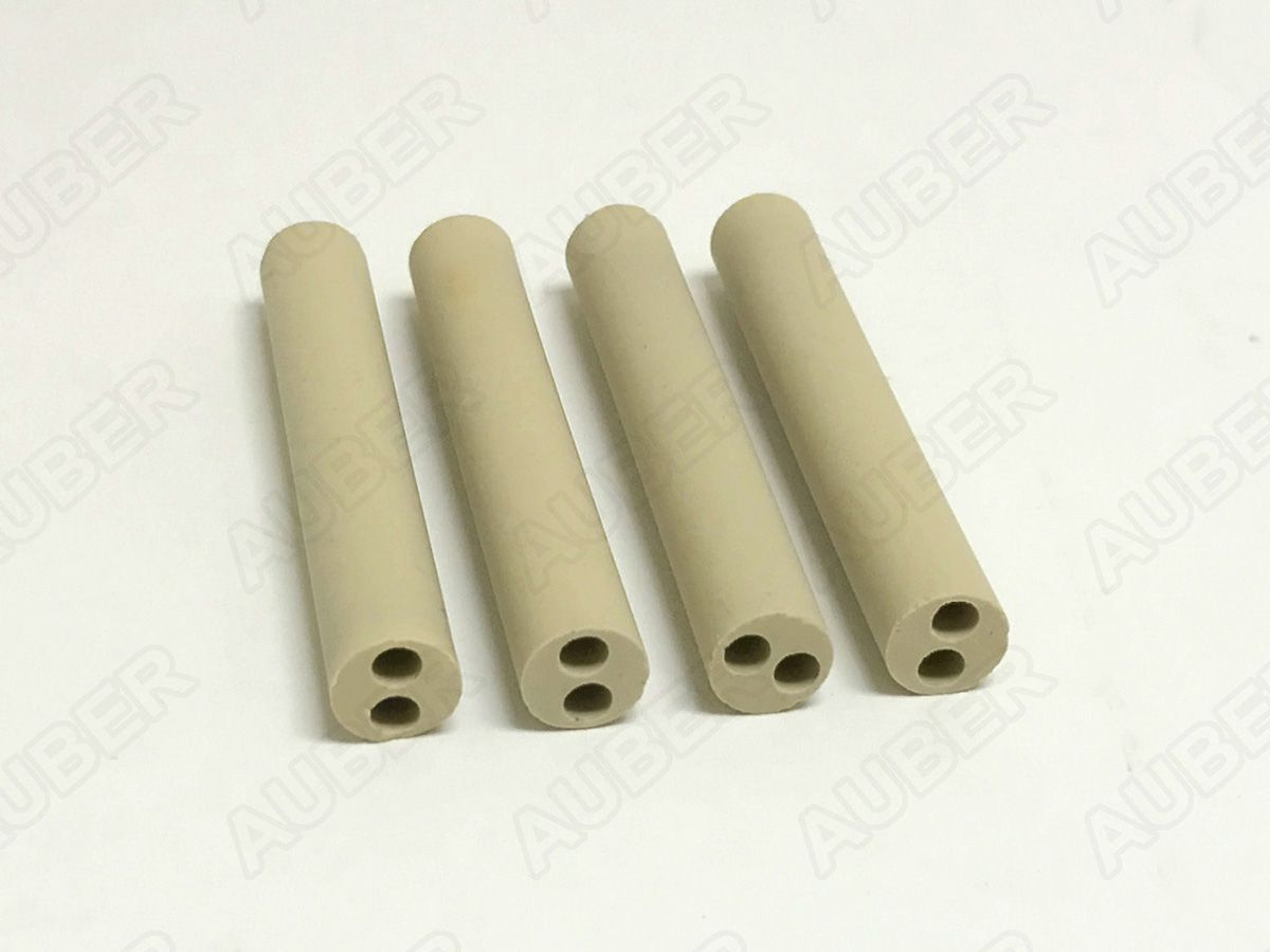 Ceramic Insulator for Kiln Thermocouple, 4 Units