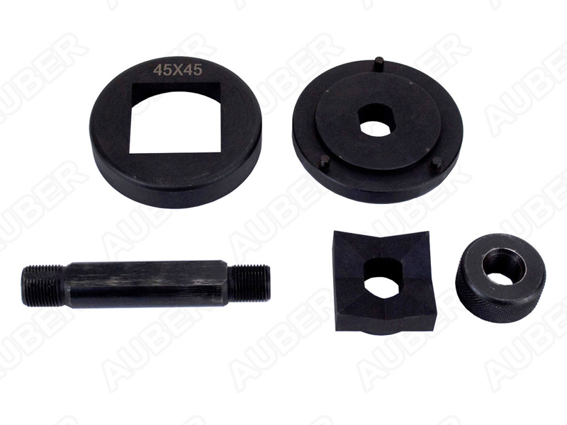for Greenlee-style drivers 1//16 DIN 45x45mm Knockout Punch /& Die Set