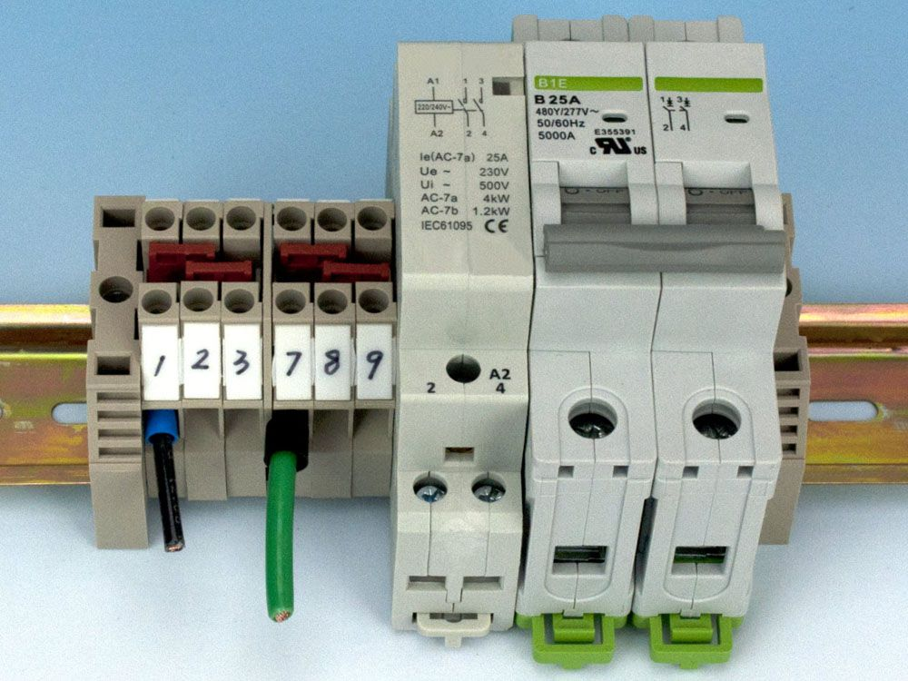 DIN Rail Components