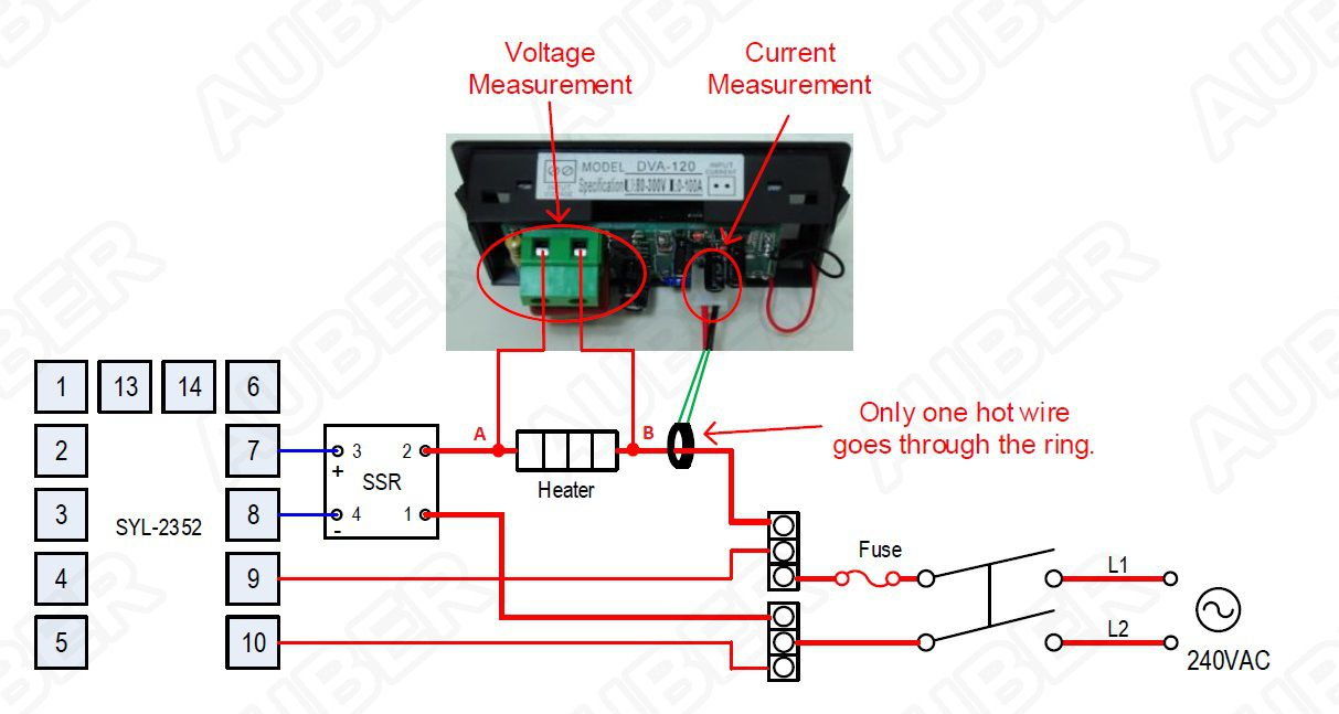 2 in 1 lcd voltmeter ammeter gauge [dva 120] $17 50 auberins com Off Grid Wiring Diagrams at Diy Enail Wiring Diagram