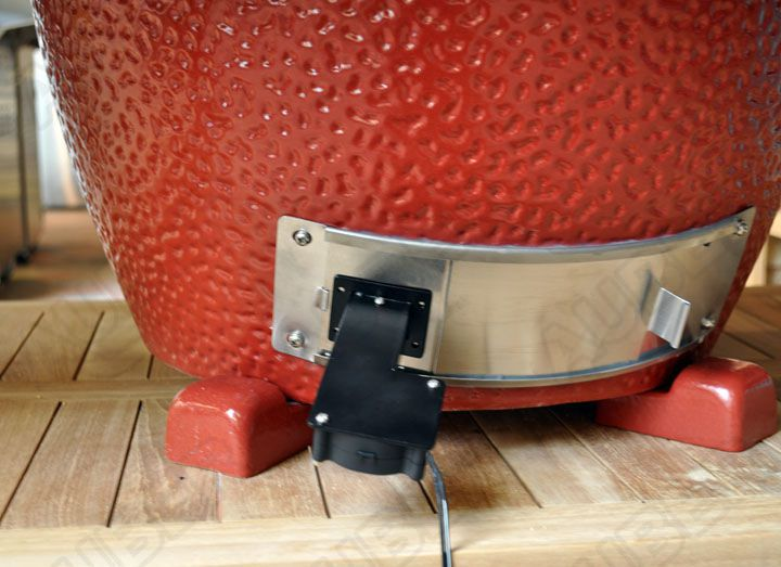 Bbq Temperature Controller For Large Big Green Eggs Ebay
