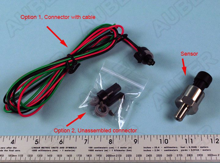 5 BAR (75 PSI) Absolute Pressure Sensor, Boost, MAP