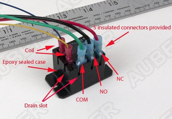 Mini Power Relay Spdt 120v 30a  R30a