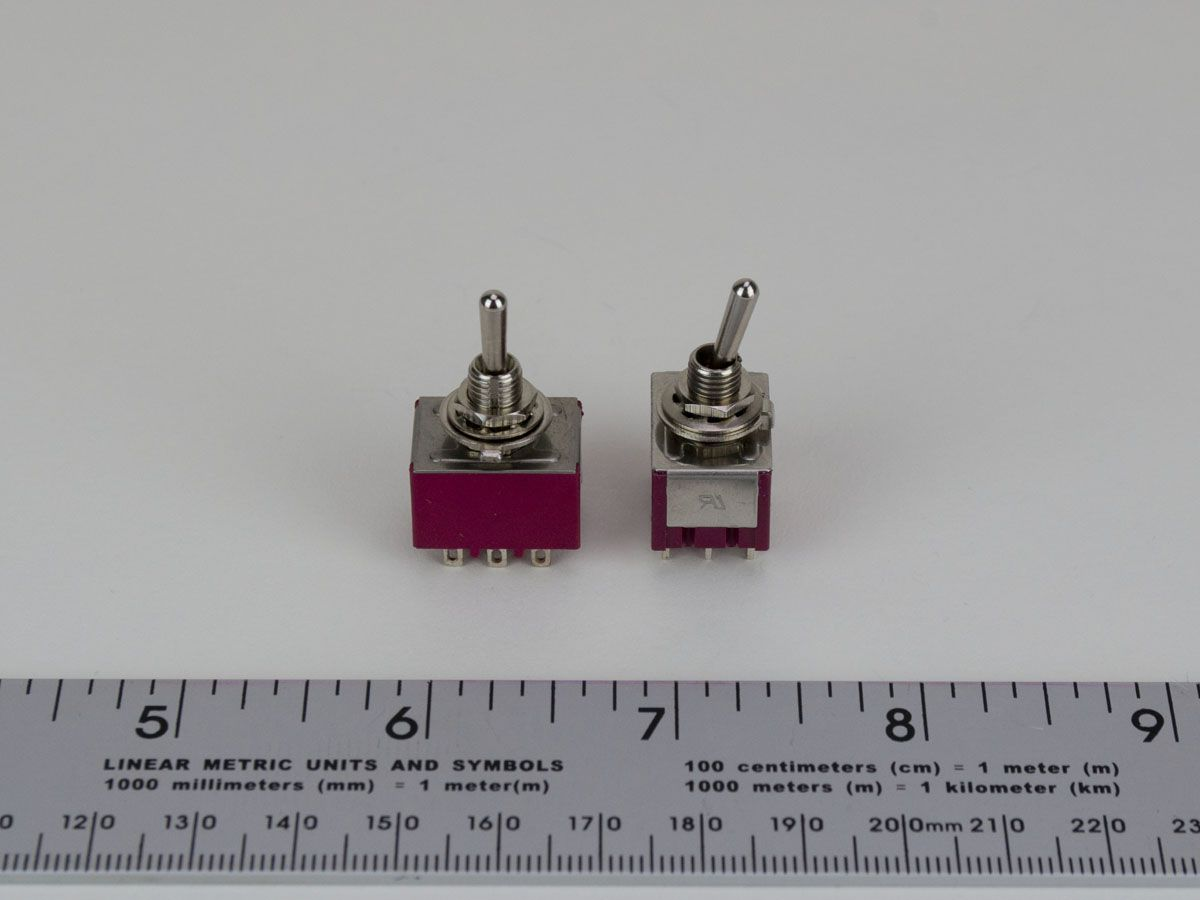 9-PIN 3PDT ON/ON Toggle Switch, RTD Sensor Switching